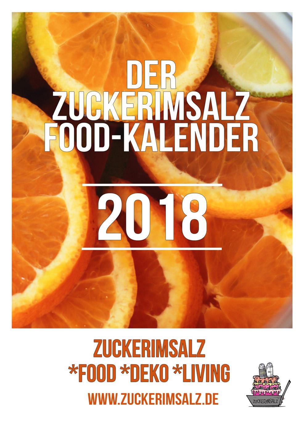 Das Geschenk … der Food Kalender 2018